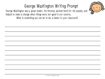 President's Day Unit - George Washington and Abraham Lincoln