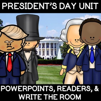 Fun President's Day Unit- Presidents and American Symbols