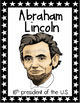 President's Day Vocabulary Posters