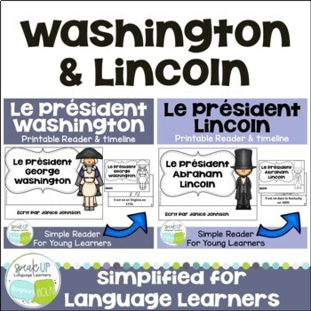 President's Day Washington & Lincoln French Bundle {en français}