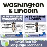 President's Day Washington & Lincoln French Bundle {en français}