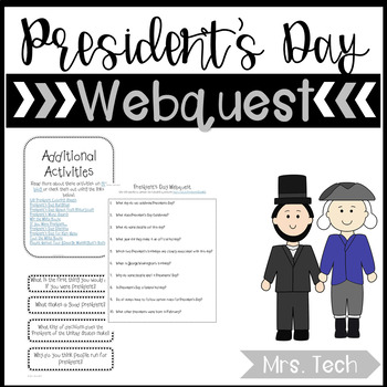 President's Day Webquest