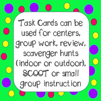 4th Grade Word Problem Task Cards