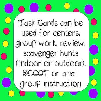 Math Word Problems Task Cards - Grade 4