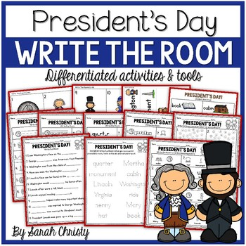 President's Day Write the Room