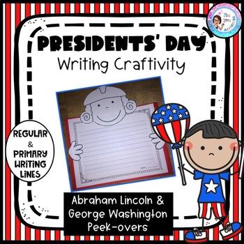President's Day Writing Craftivity