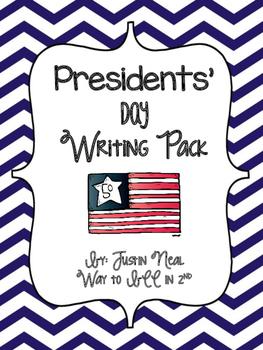 Presidents' Day Writing Freebie