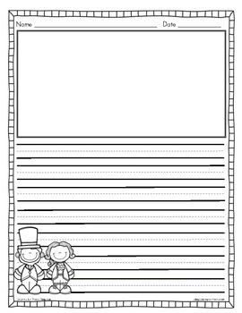 President's Day Writing Journal Sheets FREEBIE