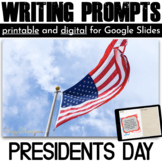 President's Day Writing Prompts {36 cards}