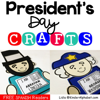 President's Day crafts for Washington and Lincoln