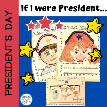 President's Day if I were President for Kindergarten