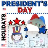 President's Day If I were President for Kindergarten or 1st grade