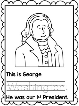 Presidents' Day { printable book, writing prompt & worksheets }