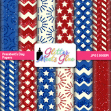 President's Day Paper {Scrapbook Backgrounds for Classroom