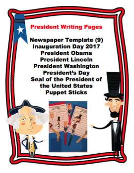 President's Writing Templates