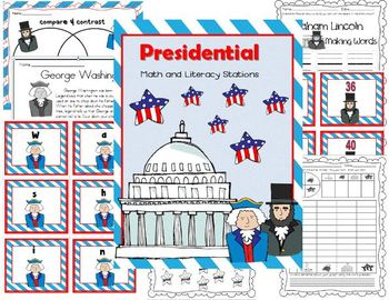 Presidental Math and Reading Common Core Packet