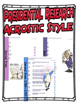 Presidential Acrostic Research