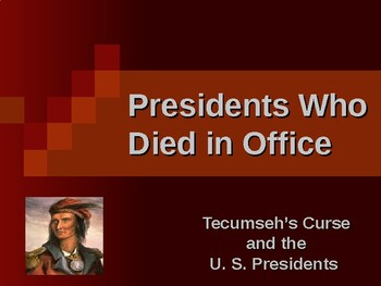 Presidential Assassinations - Tecumseh's Curse & US Presidents