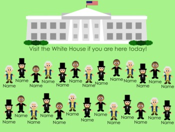 Presidential Attendance for the SMARTBoard