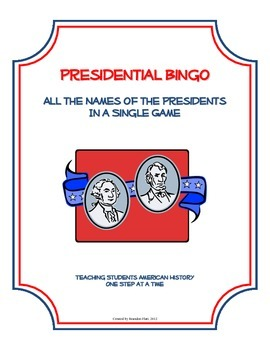 Presidential Bingo