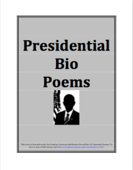 Presidential Bio Poem Project