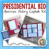 Presidential Biography Lapbook Kit