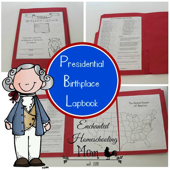 Presidential Birthplace Lapbook