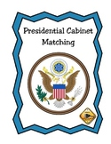 Presidential Cabinet Matching Card Game