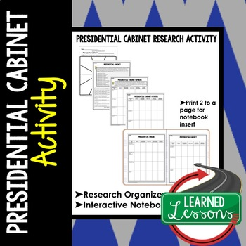 Presidential Cabinet Research Graphic Organizer
