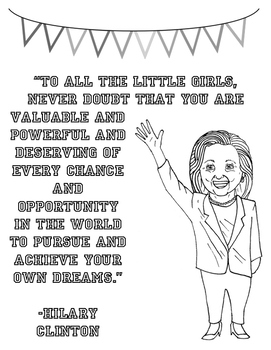 """Presidential Candidate """"Coloring Sheets"""""""