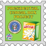 Presidential Cereal Box Project