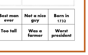 Presidential Class Worksheets (Fact and Opinion)