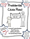 Presidential Packet- Presidents' Day Black History Month B