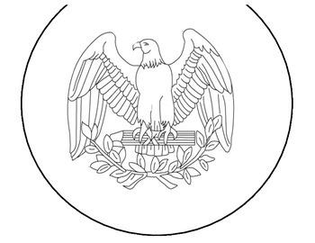 Presidential Coin Book Craftivity