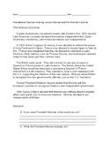Presidential Decision Making; James Monroe and the Monroe Doctrine