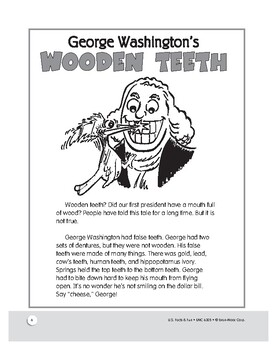 Presidential Dentures: U.S. tall tales and history facts for grades 1–3