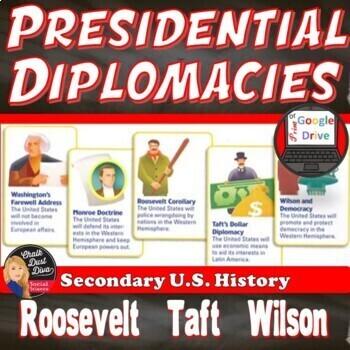 Presidential Diplomacies – Roosevelt, Taft & Wilson Lecture (Print and Digit)