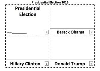 Presidential Election 2 Emergent Reader Booklets
