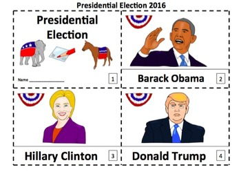 Presidential Election 2 Emergent Reader Booklets