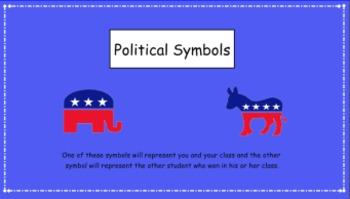 Presidential Election 2012 -  SMARTboard lesson grades 3-6