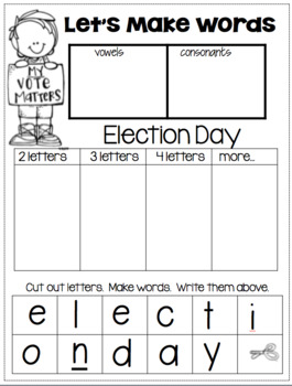 Election and Voting for the Primary Child!