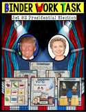 Presidential Election 2016 - Activities for Special Education Work Task Binder