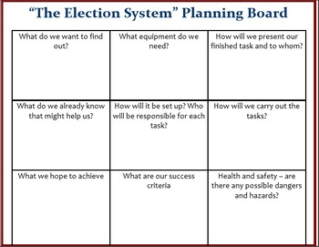 Presidential Election 2016 - Activity Pack