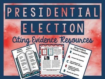 Presidential Election 2016 - Citing Evidence Resources