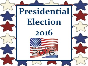 Presidential Election 2016 - Movie and Activity Pack