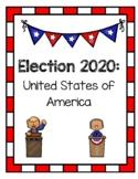 Presidential Election 2020 - Trump vs. Biden- Word Search,