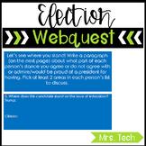 Presidential Election 2016 Webquest