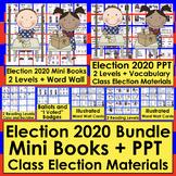 Presidential Election 2020 Bundle Mini Books, Vocabulary, Generic Version & PPT