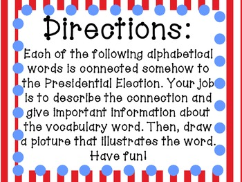 Presidential Election A to Z Book