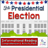 Presidential Election Day Reading Comprehension and Activity Pack